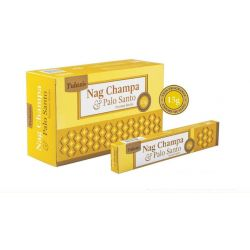 Tulasi Nag Champa Palo Santo Incense 15 Sticks