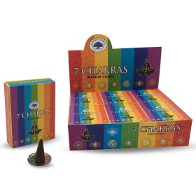 Green Tree 7 Chakra Incense Cones