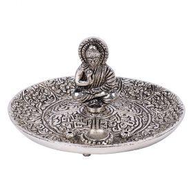 Buddha Aluminium Incense Burner - 11cm