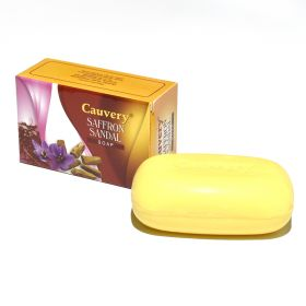 Cauvery Saffron Sandal Soap 75G