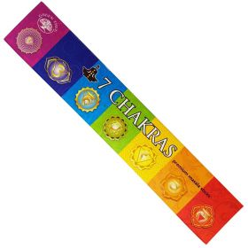 Green Tree 7 Chakra Incense 15g