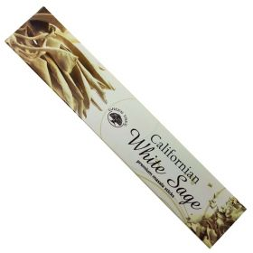 Green Tree Californian White Sage Incense 15g