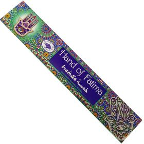 Green Tree Hand of Fatima Incense 15g