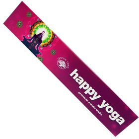 Green Tree Happy Yoga Incense 15g