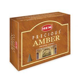 Precious Amber Cones