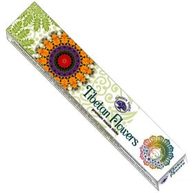 Green Tree Tibetan Flowers Incense 15g