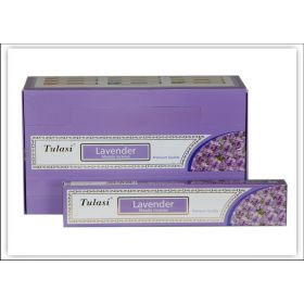 Tulasi Lavender Incense 15 Sticks