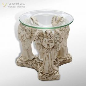 Standing Angels Oil Burner
