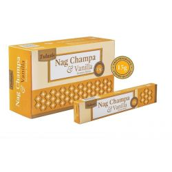 Tulasi Nag Champa and Vanilla Incense 15 Sticks